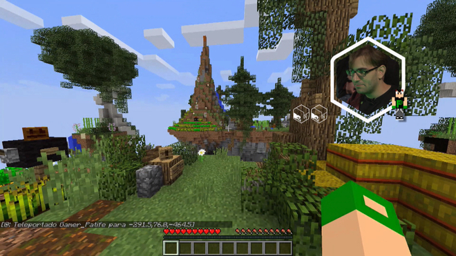 Baixa Memória e BRKs Edu jogam Minecraft