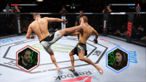 Patife e Ellen Simili jogam UFC