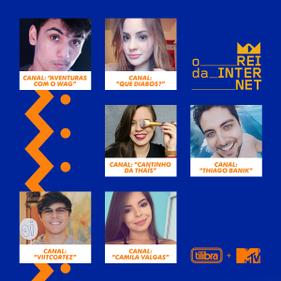 "Veja os vídeos do primeiro desafio do concurso ""O Rei da Internet"""