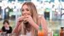 Charlotte Crosby revela motivo para pensar em comida o tempo todo