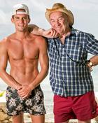 Gaz Beadle assiste Geordie Shore com o seu avô Raymond