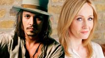 J.K. Rowling está feliz com Johnny Depp ...