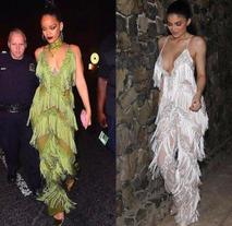 12 vezes em que Kylie Jenner roubou o estilo da Rihanna
