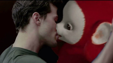 Christian Grey e Po, dos Teletubbies