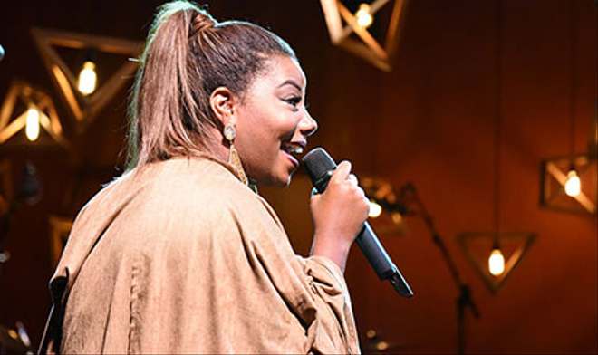 Ludmilla abre o Pocket MTV; fotos