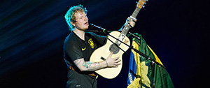 Ed Sheeran no Brasil