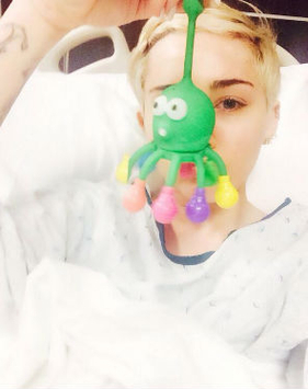 Miley Cyrus cancela shows por m