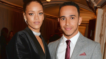 Rihanna namorando Lewis Hamilton?