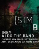 Inky e Aldo The Band tocam New Order e Joy Division no Cine Joia